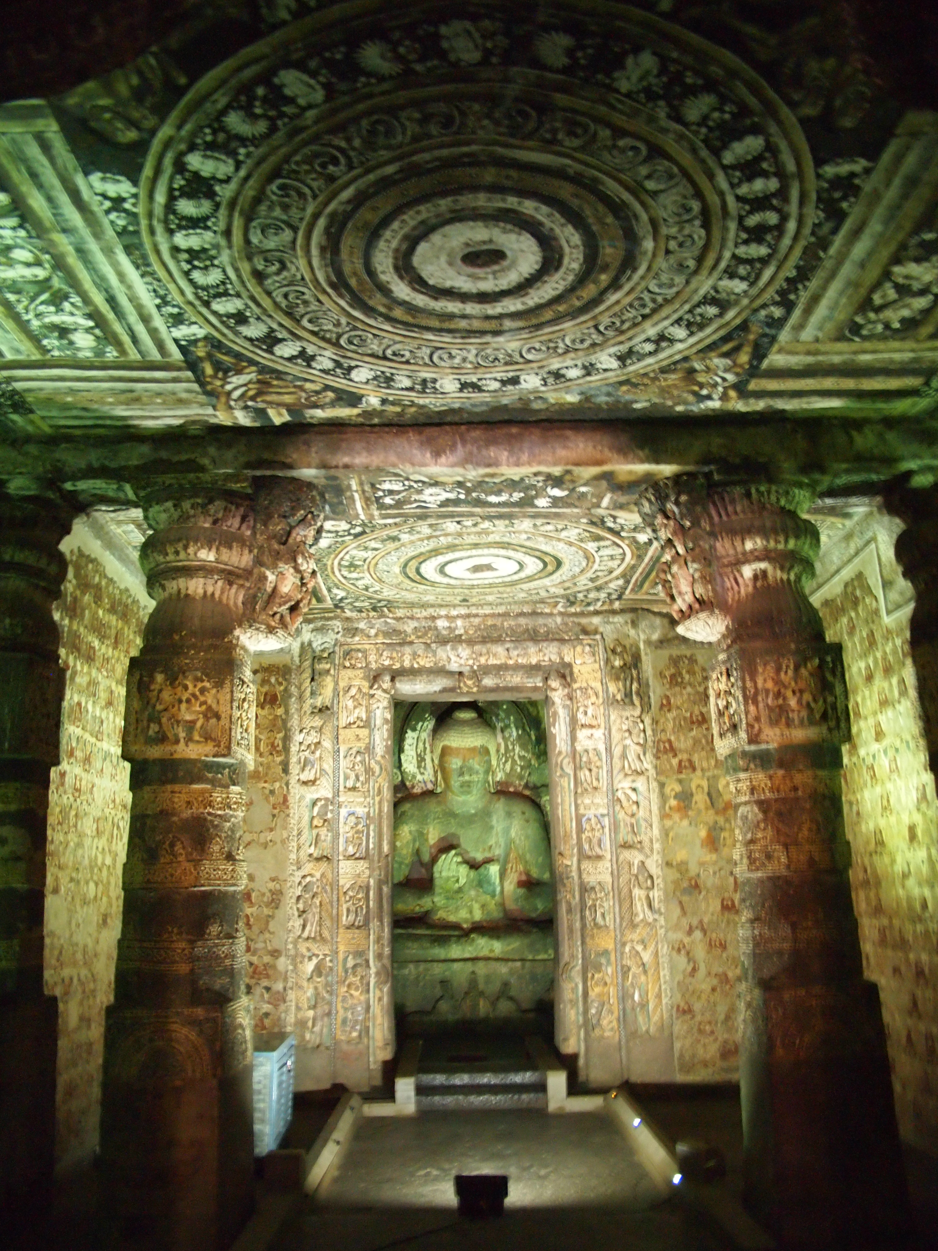 Pictorial Post: Ajanta and Ellora Caves