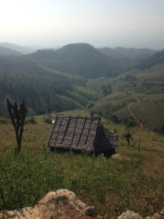 Mae Sariang: My view in Thailand