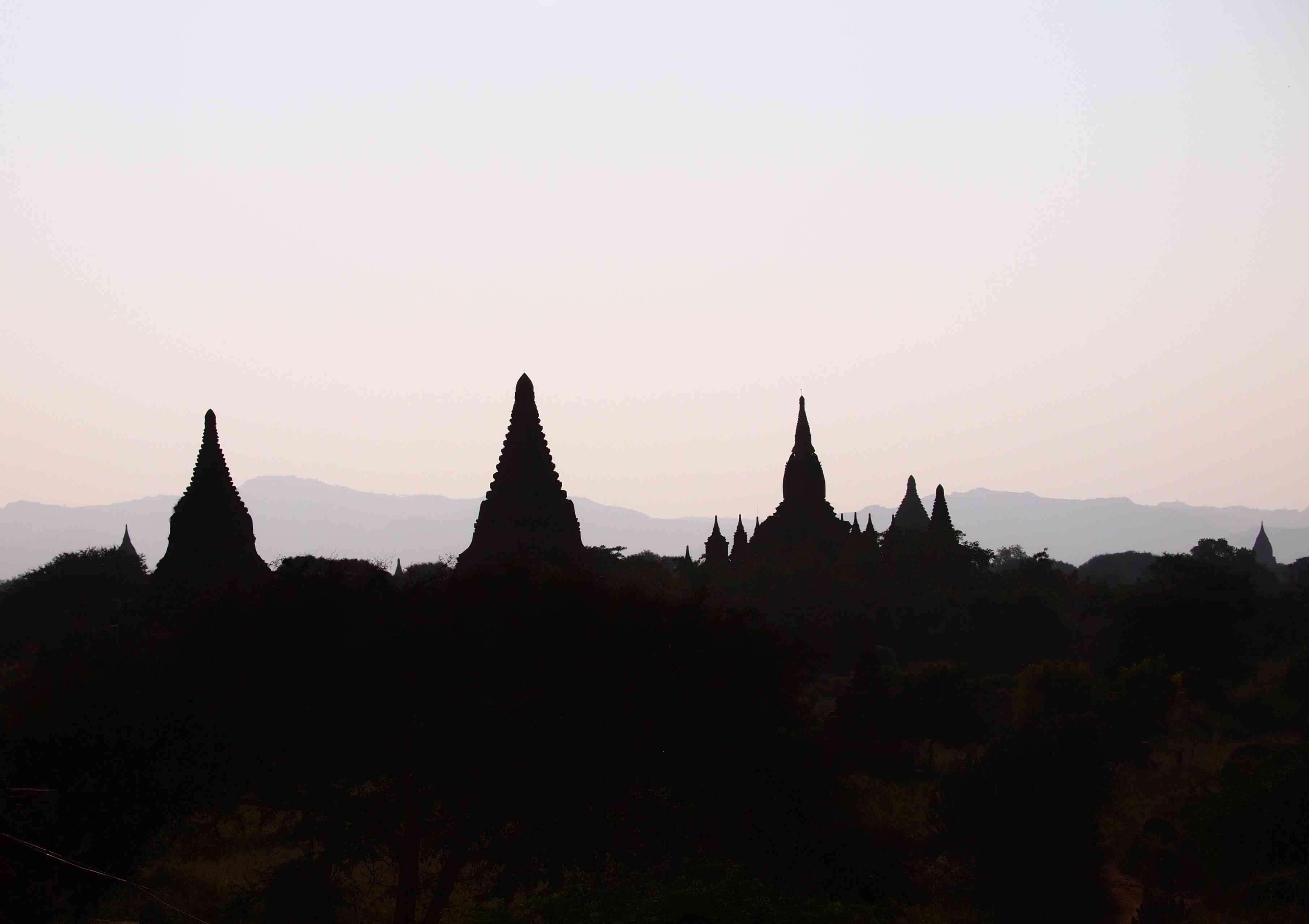 Sunset from Shwesandan