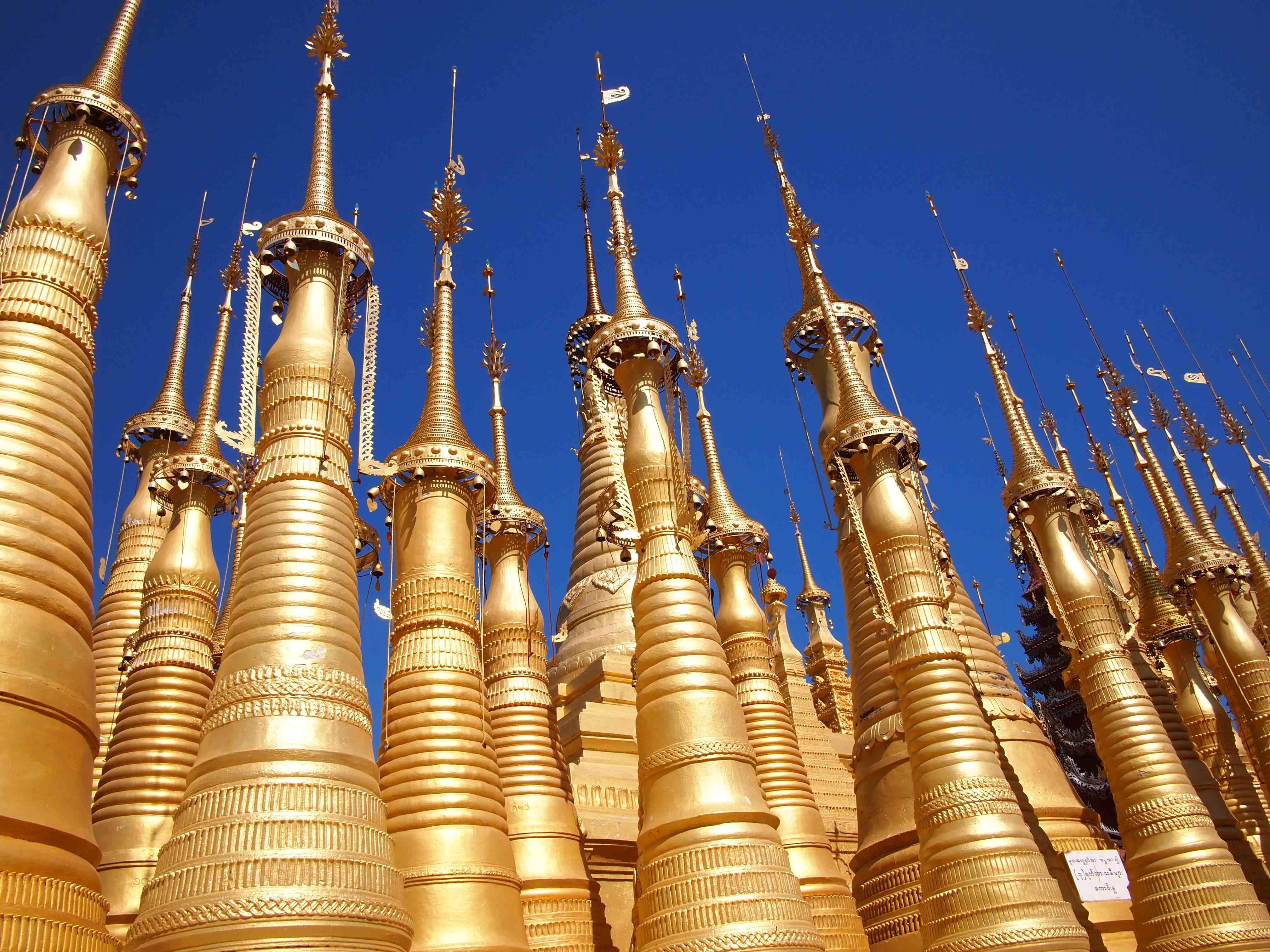Inlay Shwe Inn Tain Pagoda