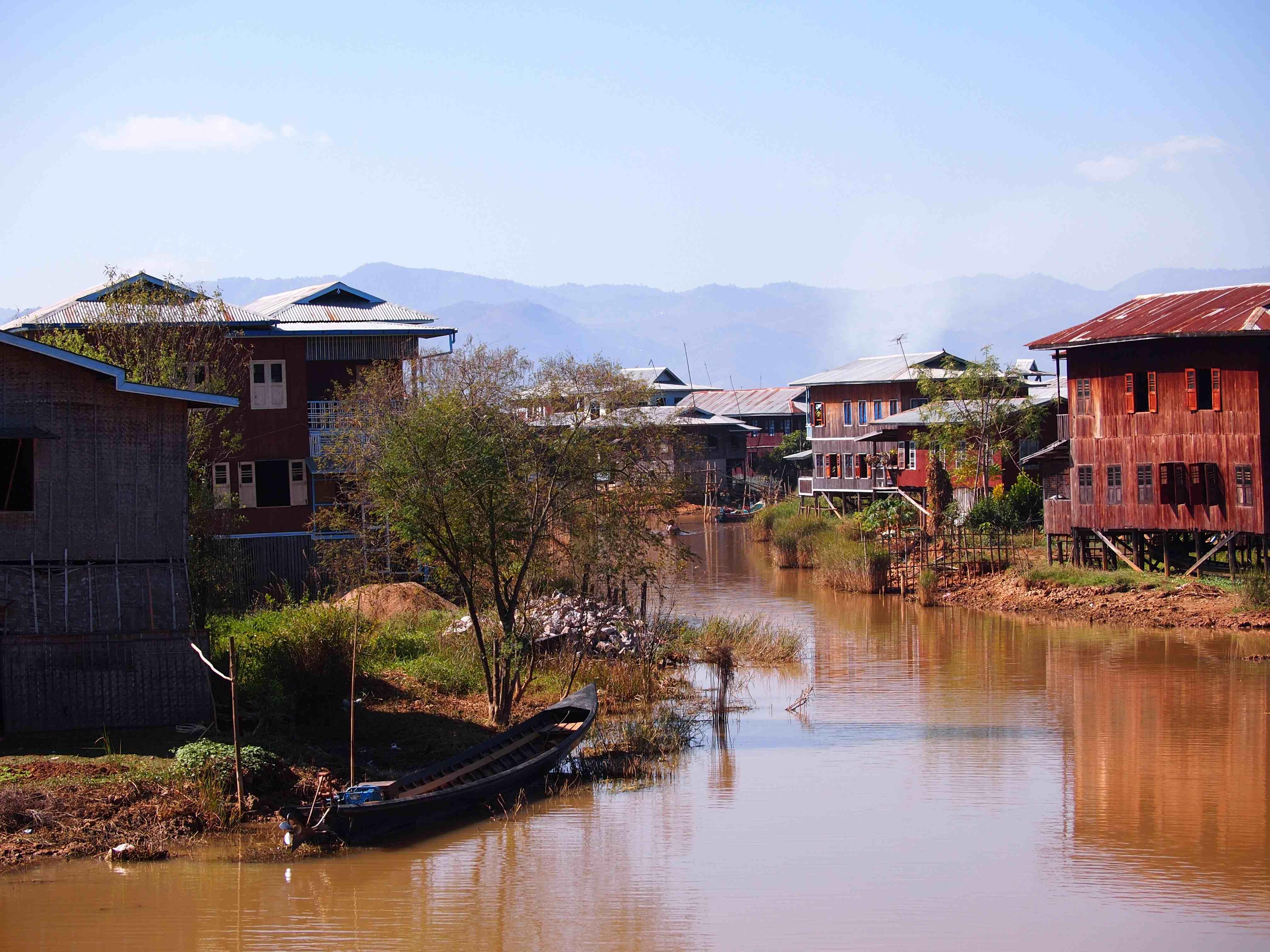 Village on Inle Lake