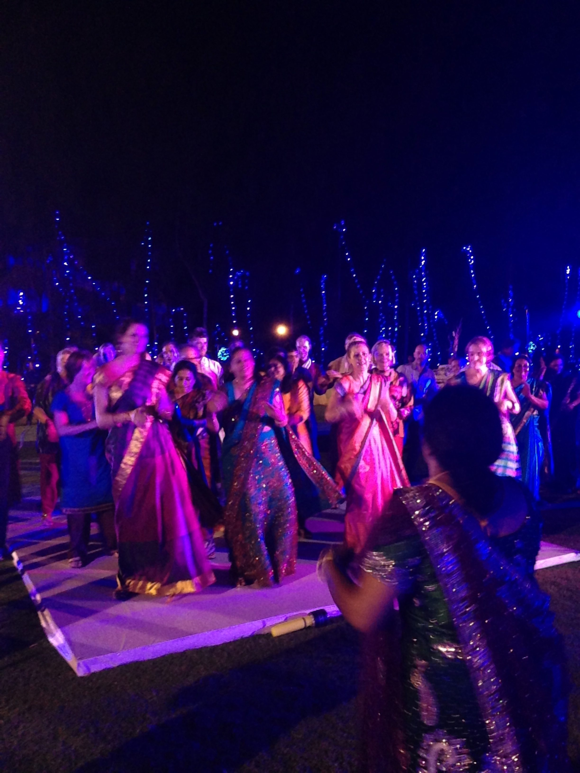 The Guests Getting Their Bollywood On