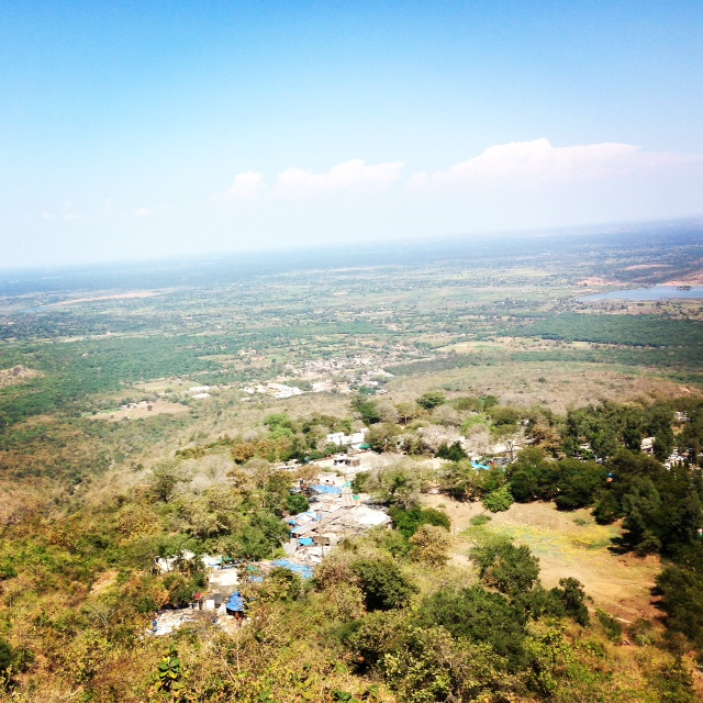 View from Pavagadh