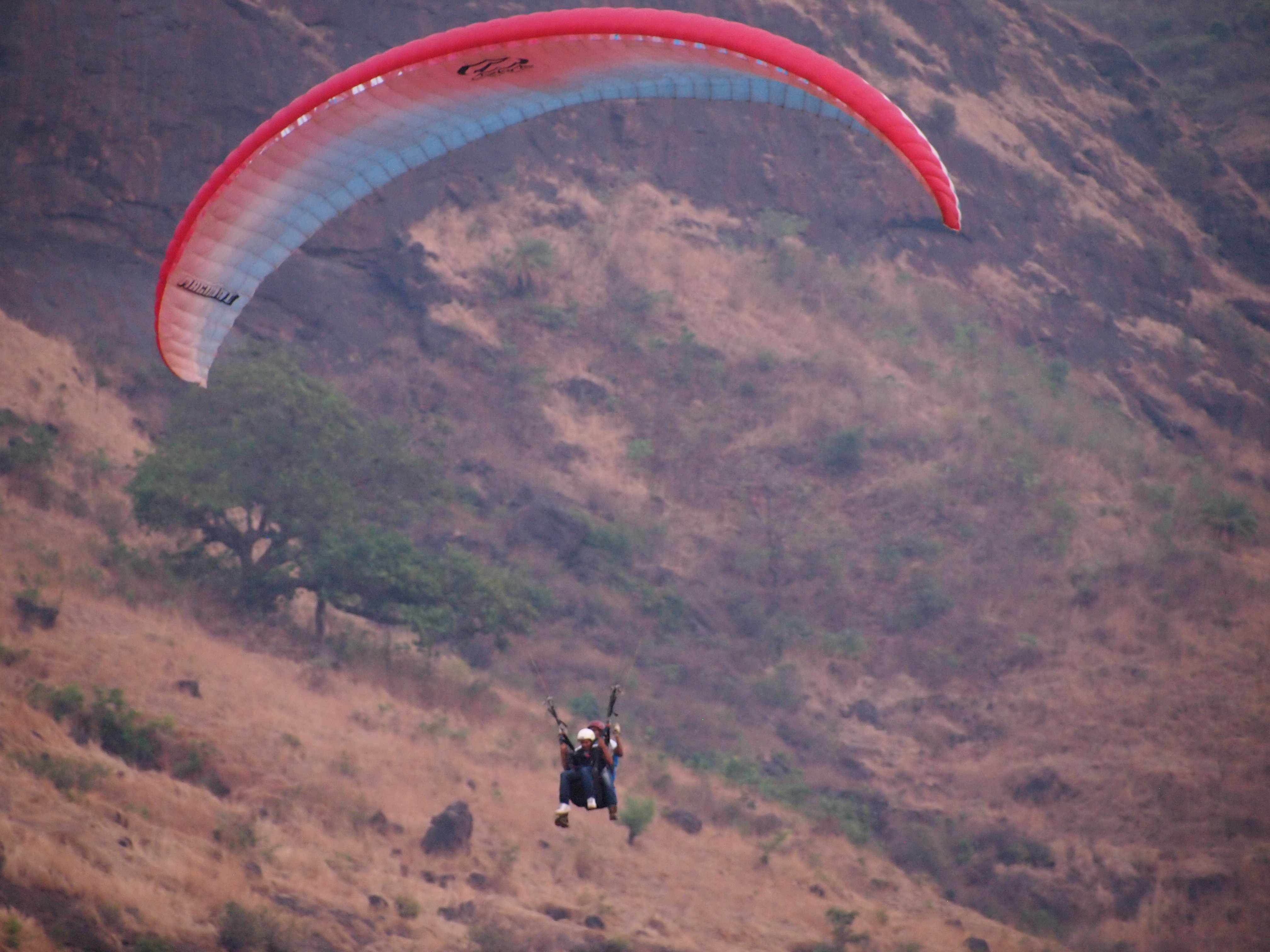 Flying High : Paragliding Near Mumbai