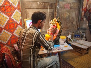 Ganpati Artist at Work