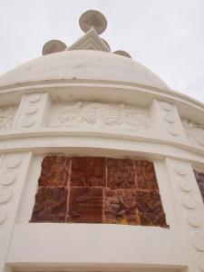 Shanti Stupa in Dhauligiri Near Bhubaneshwar
