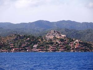 Kalekoy Castle in Kekova