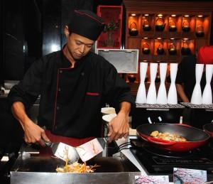 Chef Kazuhiko at the Sofitel Mumabi