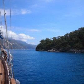 Sailing The Turquoise Coast in Turkey