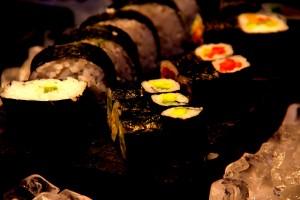 Sushi at the Sofitel Mumbai BKC