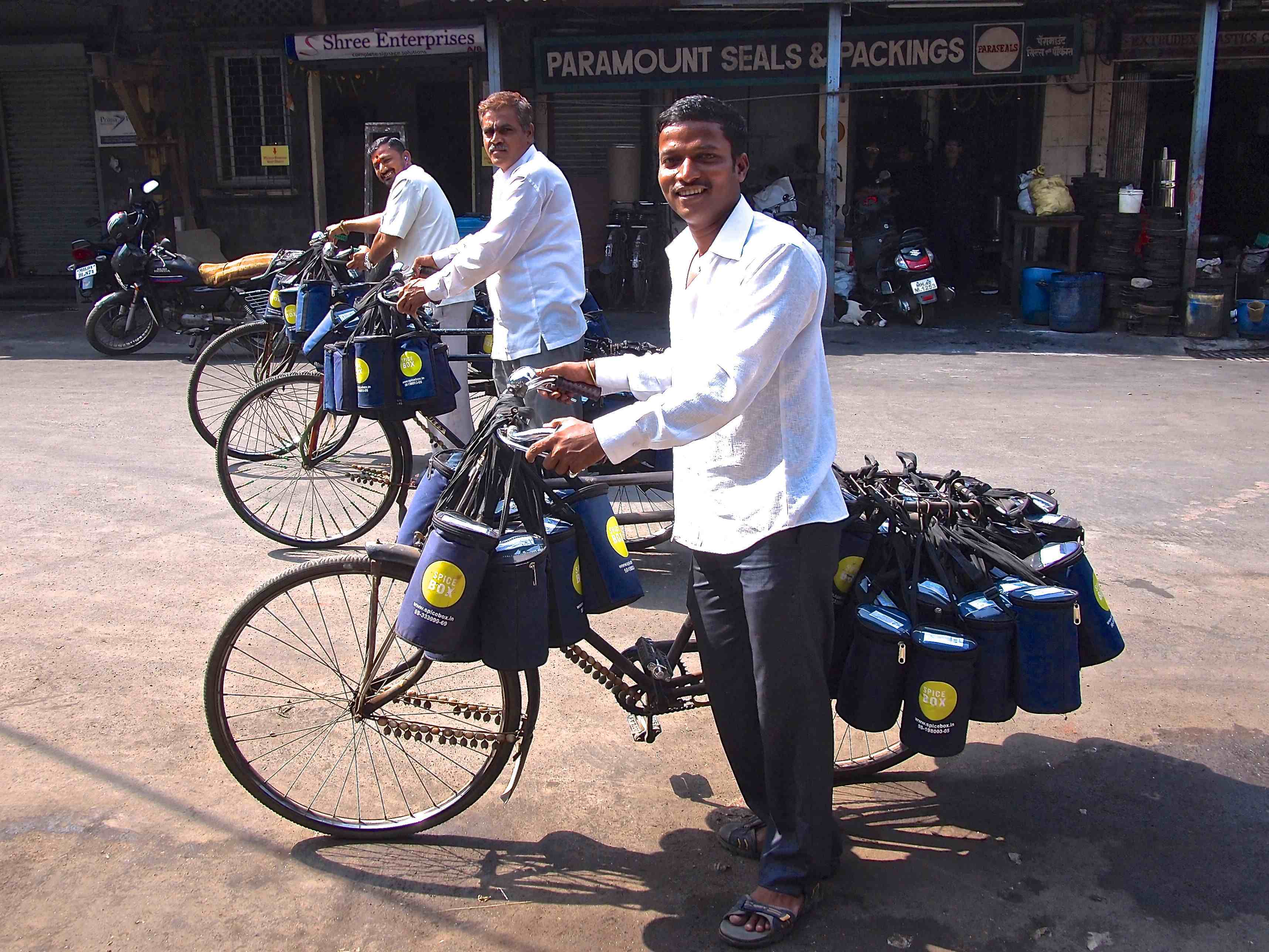 Dabbawalas ready to go