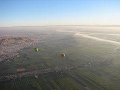 Hot Air Balloon Ride Over Luxor