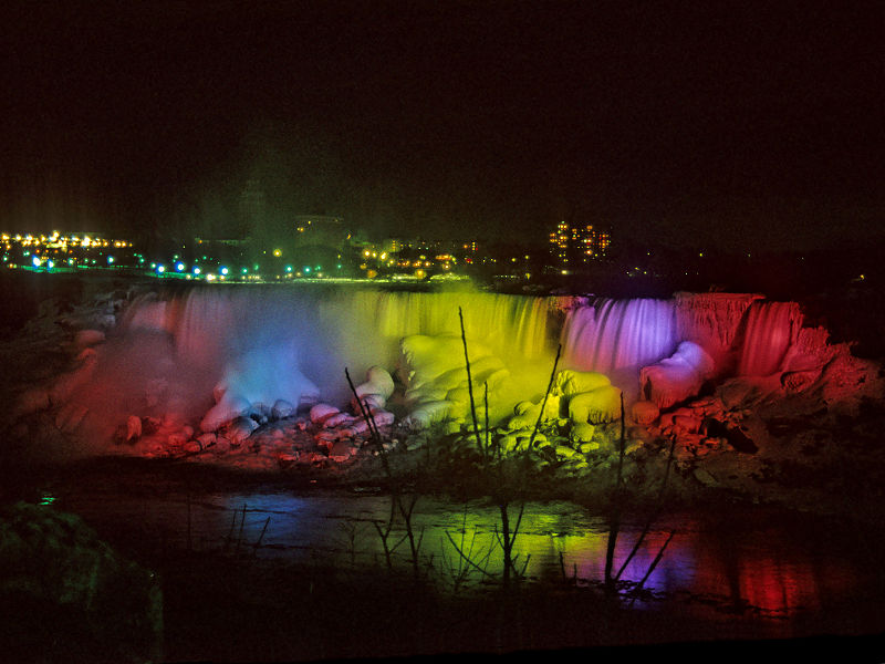 Disco Niagara Falls - Photo Courtesy Jeroen Kransen via Collective Common