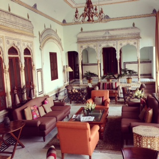 The Lounge at Samode Haveli