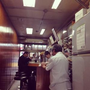 Cafe in Tsukiji Market