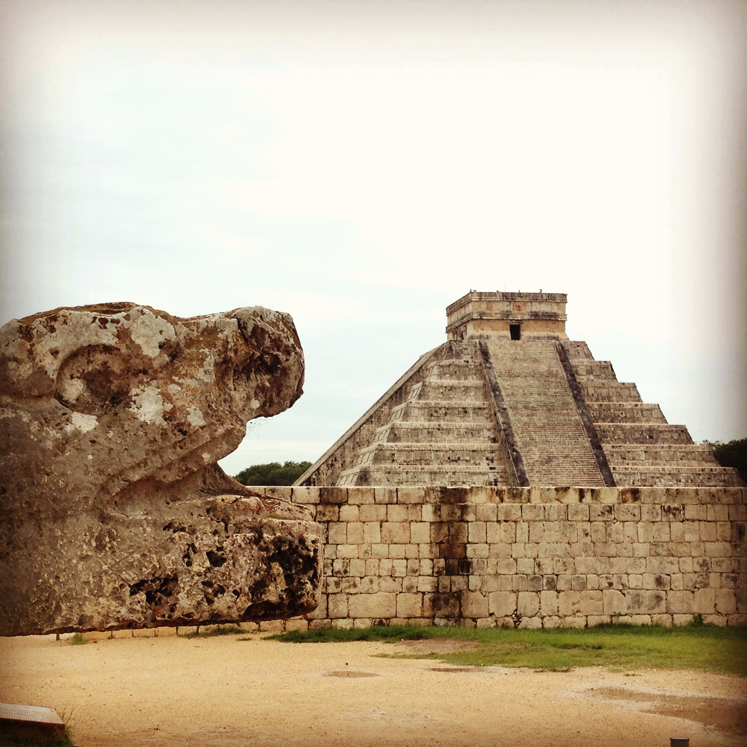 One of the 7 Wonders of the World : Chichen Itza