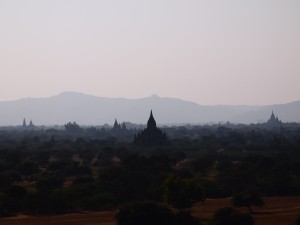 View from Pyathada Paya, Bagan