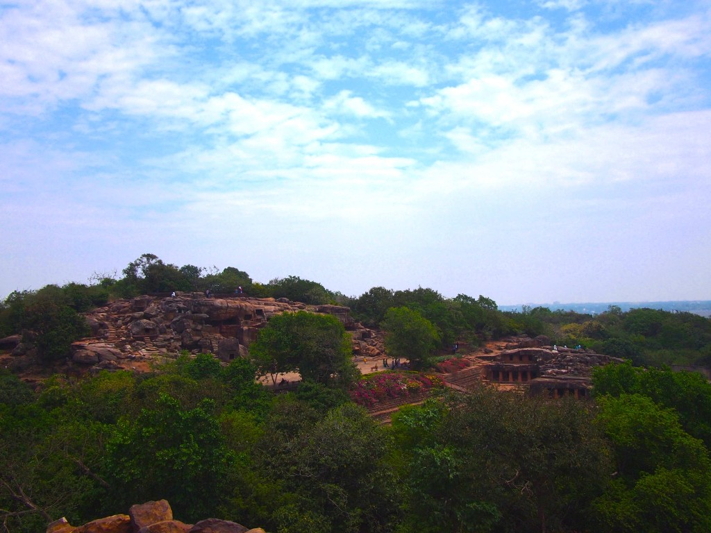 View of Udayagiri Caves