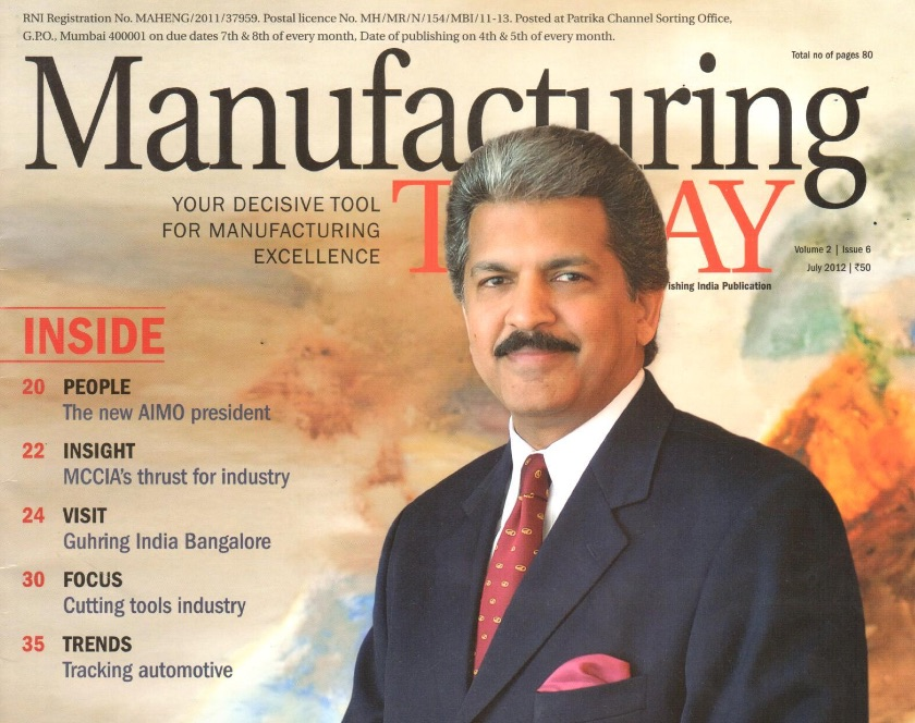 Manufacturing Today Top 25 Power List