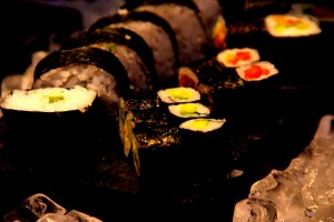 Sushi at the Sofitel Mumbai BKC
