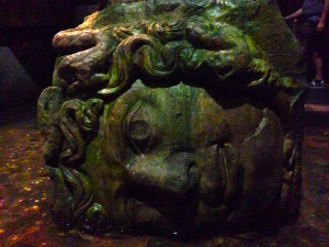 Medusa at The Basilica Cistern