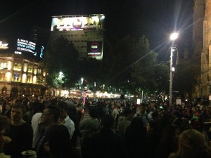 Swanston Street White Night