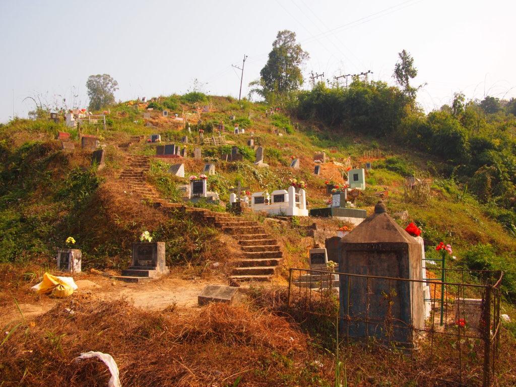 Baptist cemetery Nagalandd